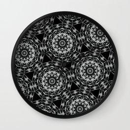 Geometric Mandala Wall Clock
