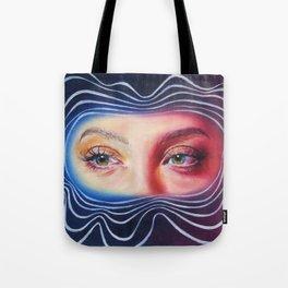 Why won't you look me in my eyes? Tote Bag