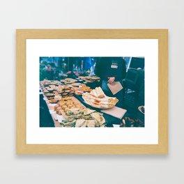 Pies Framed Art Print
