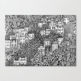 Nob Hill Canvas Print