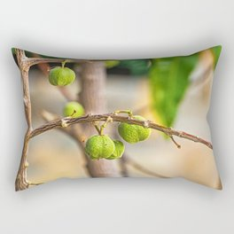 The fruit on the branch Rectangular Pillow