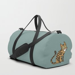 Cat - Bengal cat Duffle Bag