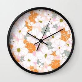 RoseDust Wall Clock