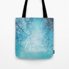 Twas The Night Before Christmas Tote Bag