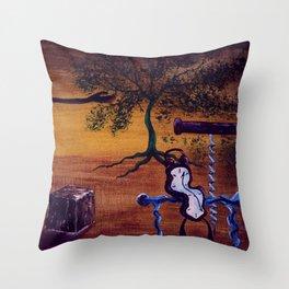 Dali's watch Throw Pillow