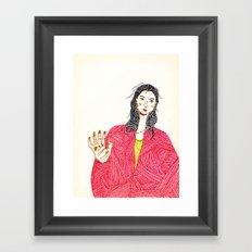Marker Self v.037 Framed Art Print