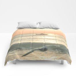 Fishermans Sunrise 4 by Murray Bolesta Comforters