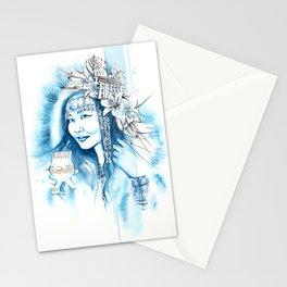 Miss Yakutsk Stationery Cards