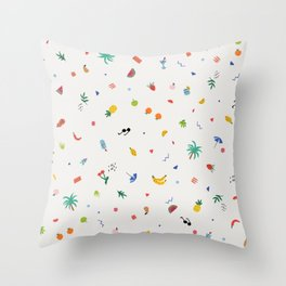 Feeling fruity Throw Pillow