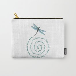 Witches rule of Three and dragonfly Carry-All Pouch