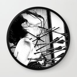 asc 778 - La lione blessée (Love is a killer) Wall Clock
