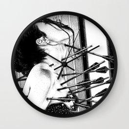asc 778 - La lione blessée (Love is a killer) Wall Clock