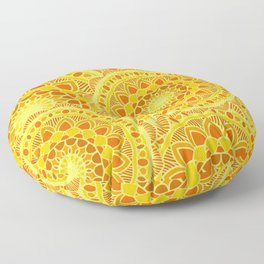 sun flower summer Floor Pillow