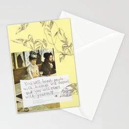 kindness and respect Stationery Cards