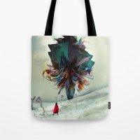 archan nair Tote Bags featuring Soh:adoe by Archan Nair
