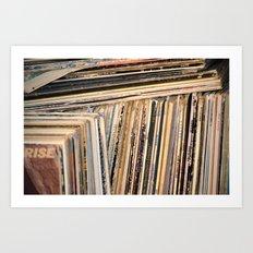 Album Covers Art Print