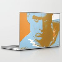 clint barton Laptop & iPad Skins featuring clint by zemoamerica