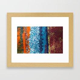Neon Soul Framed Art Print