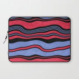 Horizontal wavy stripes.2 Laptop Sleeve
