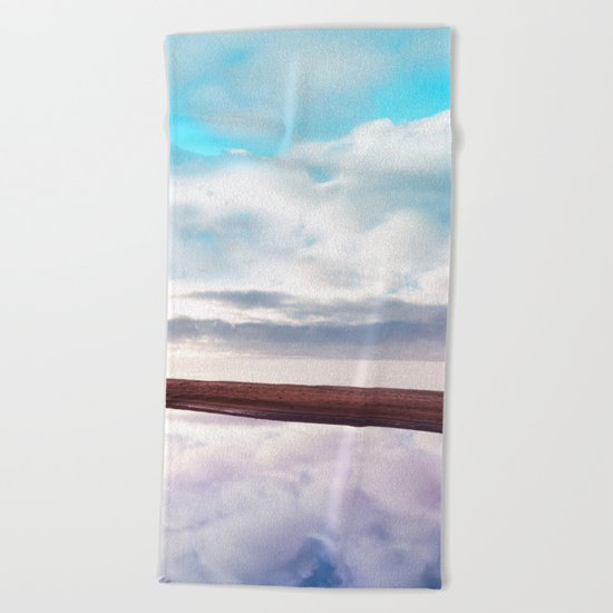 Pastel vibes 71 Beach Towel