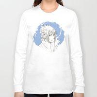 sasuke Long Sleeve T-shirts featuring Sasuke by ilaBarattolo