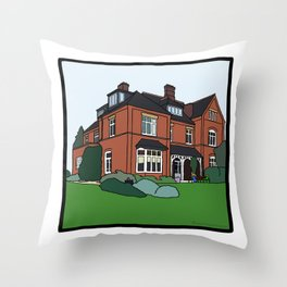 Cambridge struggles: Lucy Cavendish Throw Pillow