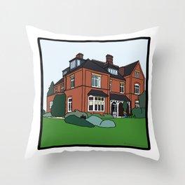 Cambridge struggles: Lucy Cavendish Throw Pillow