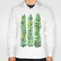 fern Hoodies featuring Seaweed by Cat Coquillette