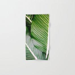 Big Leaves - Tropical Nature Photography Hand & Bath Towel
