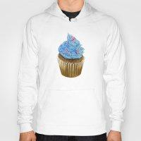 "cupcake Hoodies featuring ""Cupcake"" by Allana Vazquez"