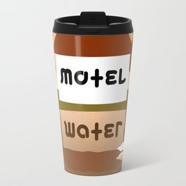 MOTEL WATER ambigram Travel Mug