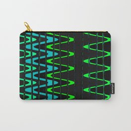 Waves and Zigzags Carry-All Pouch