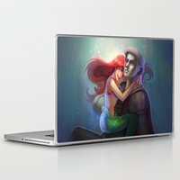 ariel Laptop & iPad Skins featuring ariel by Katie Payne