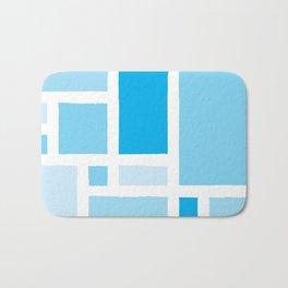 Mondrian has the Blues Bath Mat