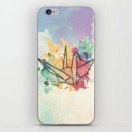 Sundara Dreams with Clouds iPhone Skin