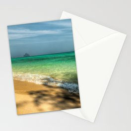 Shaded Beach Stationery Cards