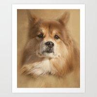 sasha grey Art Prints featuring Sasha by Photography and Fine Art by Pamela