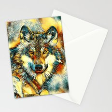 AnimalArt_Wolf_20170601_by_JAMColorsSpecial Stationery Cards
