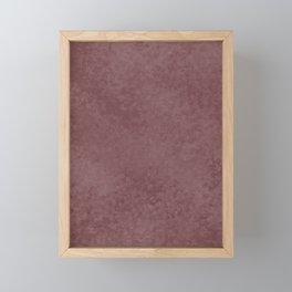 Pantone Red Pear, Liquid Hues, Abstract Fluid Art Design Framed Mini Art Print