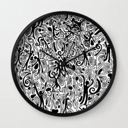 Ooey Gooey Wall Clock