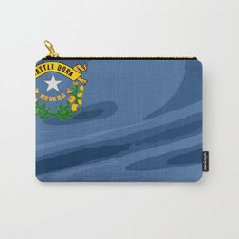 Nevada Fancy Flag Carry-All Pouch
