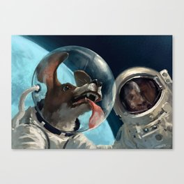 In out space Canvas Print