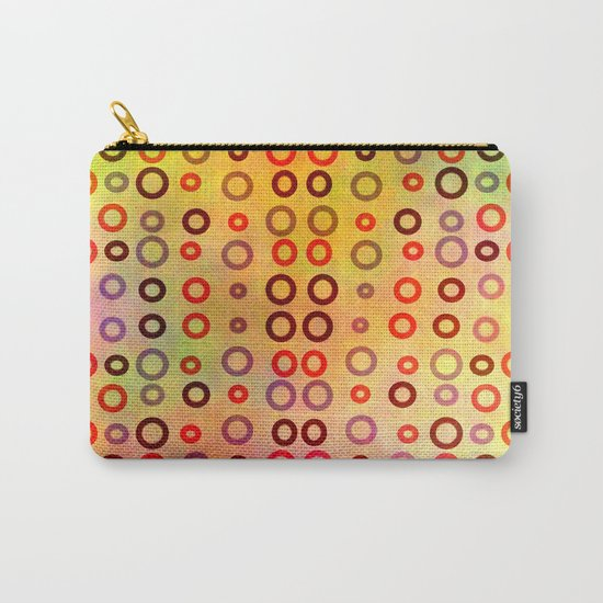 Playful circles Carry-All Pouch