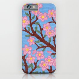 Large Cherry Tree 1a iPhone Case