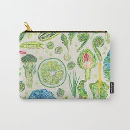 Harvest of Green - Neutral Carry-All Pouch