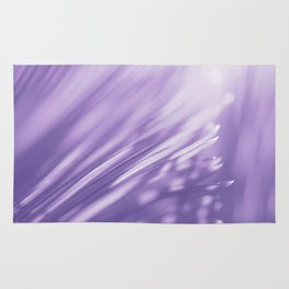 Ultra Violet Palm Tree Pattern| Trendy color of year 2018 Rug