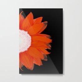 portrait of summer - red black Metal Print