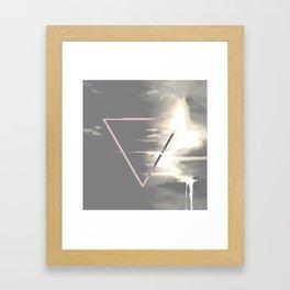 Pour Down Framed Art Print