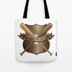 Zombie hunter shield Tote Bag