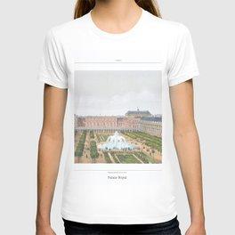Paris art print Paris Decor office decoration vintage decor PALAIS ROYAL of Paris T-shirt